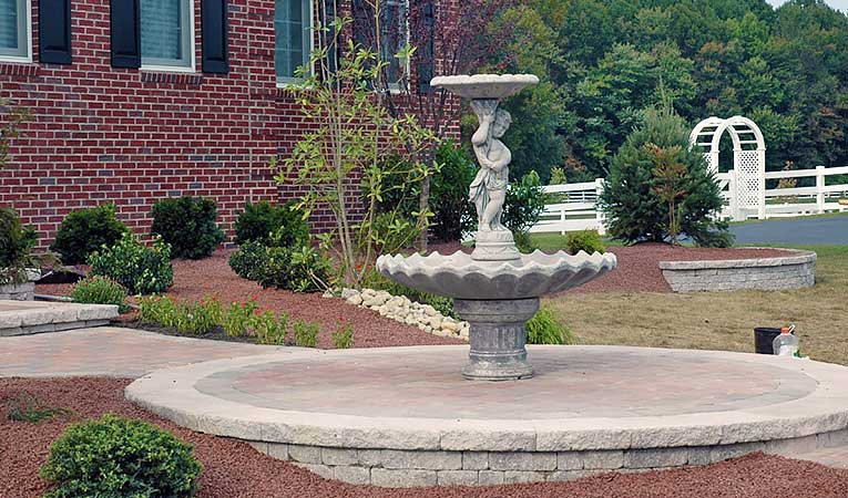 landscape fountain example